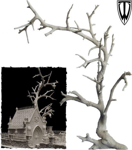 Hier kann man die Größe des Baumes erahnen, er ist 27cm hoch