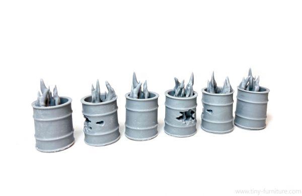 Burn Barrels / Brennendes Fass