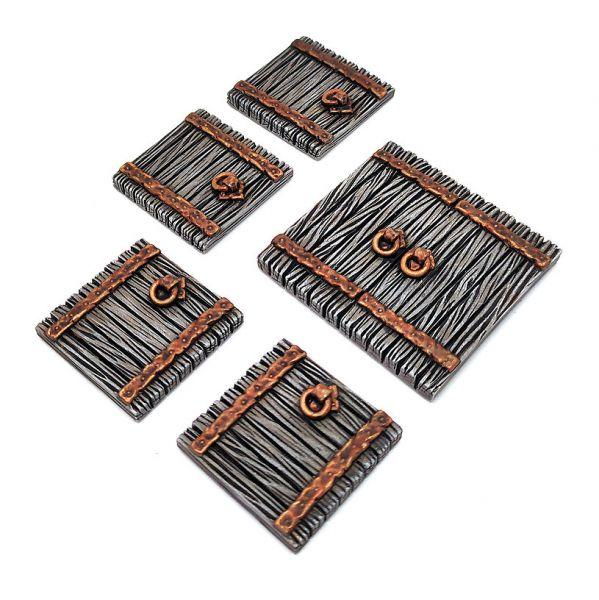 Wooden Trapdoors / hölzerne Falltüren