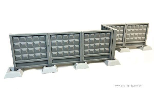 Soviet concrete walls PO-2 / Betonwände UDSSR Style