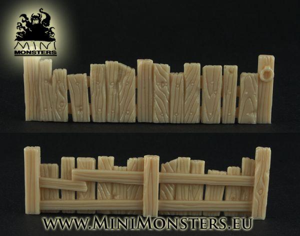 Holzzaun Setteil 1