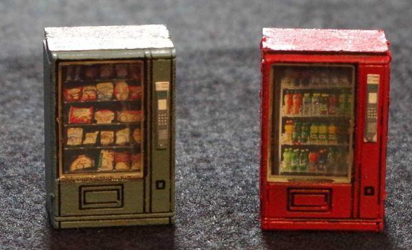 Das Bild wird der Qualität leider nicht gerecht. Die beiden Automaten sehen viel besser aus als dieses gezoomte Bild zeigt. Modulares Terra-Blocks™ Tabletop Gelände von Sally 4th