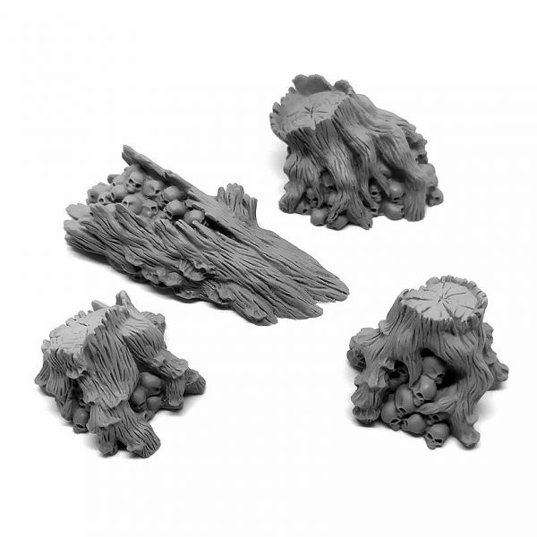 Wasteland Wood / Chaos Baumstümpfe