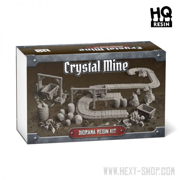 Crystal Mine Diorama Resin Kit