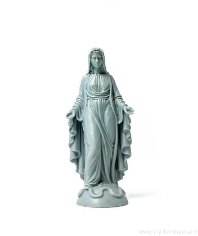 statuen der jungfrau maria