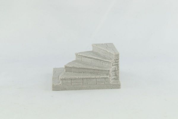 6cm Dungeon Curved Stairway