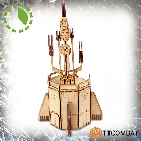 Bolstered Communication Tower