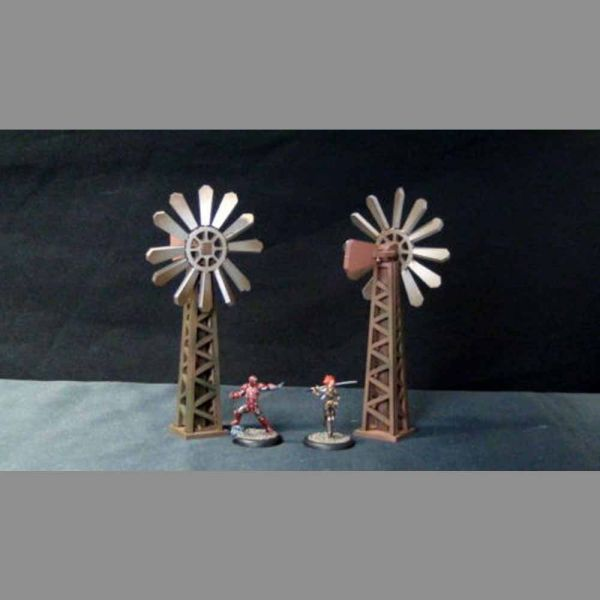 Windmills - Wild West Scenics
