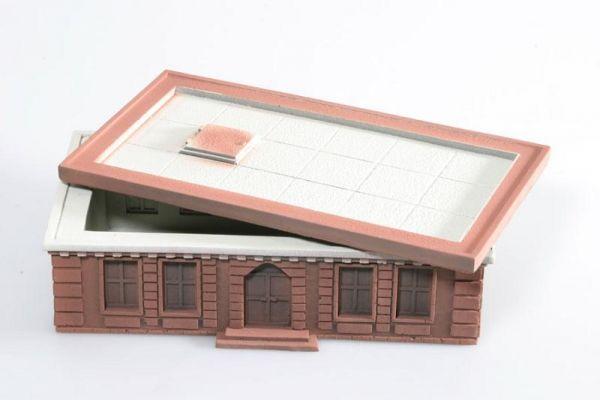 Lieferform des Tabletop Brownstone Houses von Ziterdes