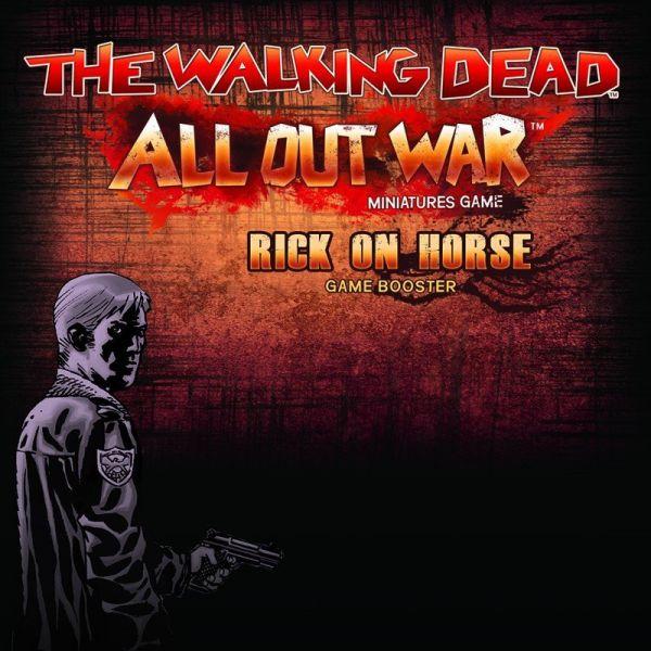 The Walking Dead: Rick on Horse Booster (EN)