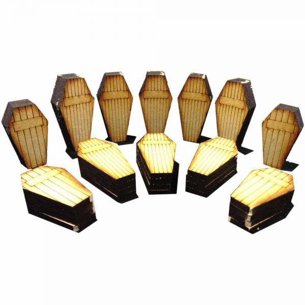 Coffin Set - Wild West Scenics