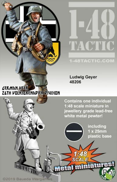 Ludwig Geyer - German 26th Volksgrenadier