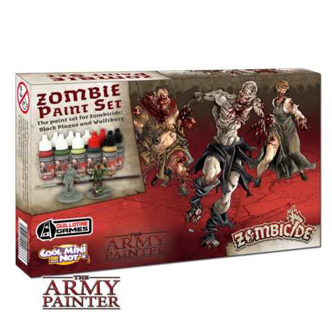 Zombicide: Black Plague Paint Set