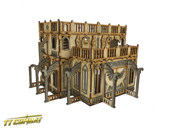 Gothic Ruined Officium - Sci-Fi-Gothic Scenics