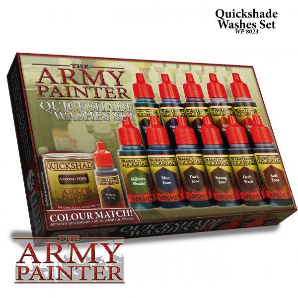 QUICKSHADE Washes Set von The Army Painter