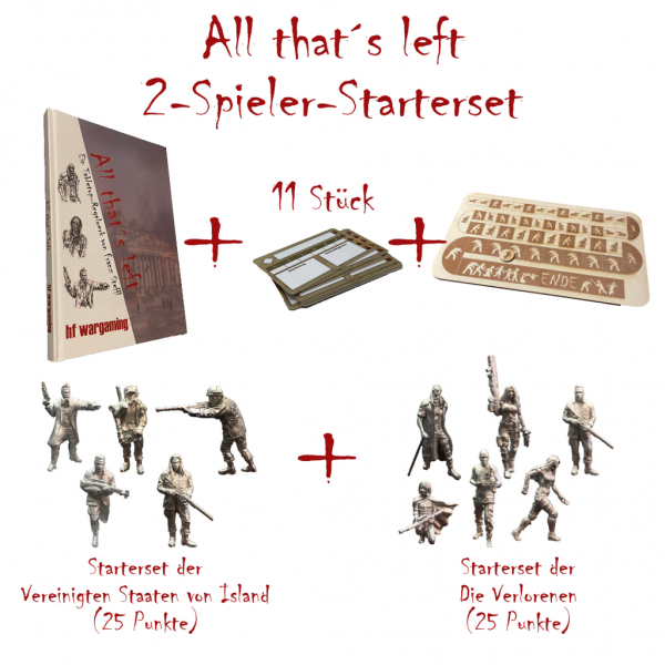 All that´s left - 2-Spieler-Starterset (DE)