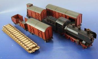 RM-301 Starterset Güterzug mit Dampflok