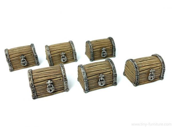 Treasure chests / Schatztruhen
