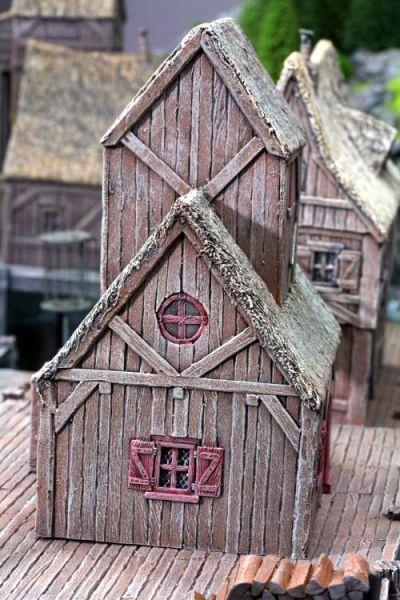 Tabletop Haus der Stadwache Seestadt