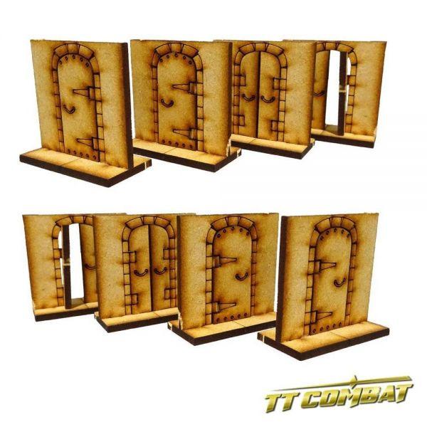 Dungeon Doors Set - Fantasy Scenics