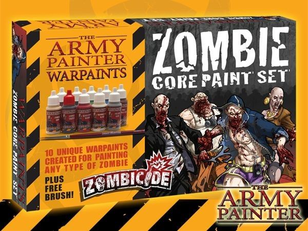 WARPAINTS Zombie Core Paint Set