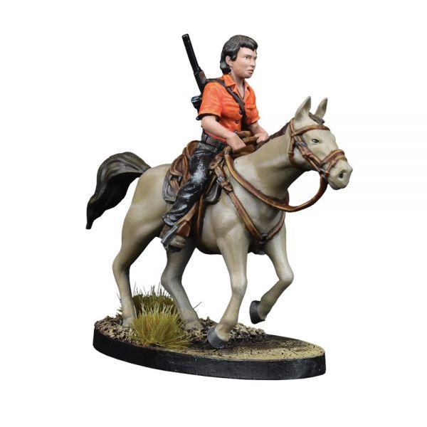 Maggie and Glenn on Horseback (EN) - The Walking Dead: All Out War