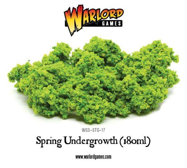 hellgrünes Unterholz - passt gut zum Frühling