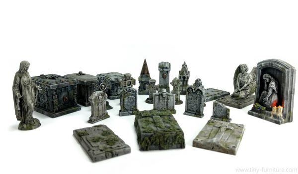 Graveyard / Friedhof Set