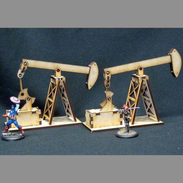 Oil Pump - Wild West Scenics