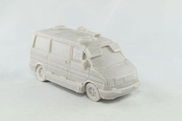 Police SWAT Van