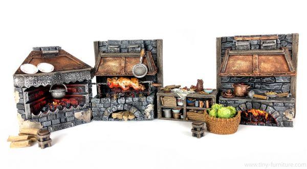Medieval Kitchen / Mittelalterliche Küche