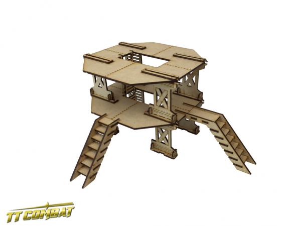 Industrial Large Platform Set B - Industrial Hive Scenics