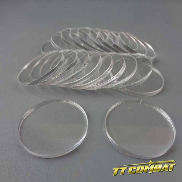 Round Clear Bases (32mm)