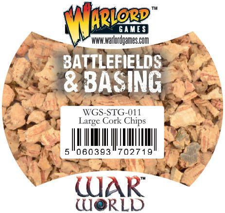 Large Cork Chips von Warlord Games (Warworld)
