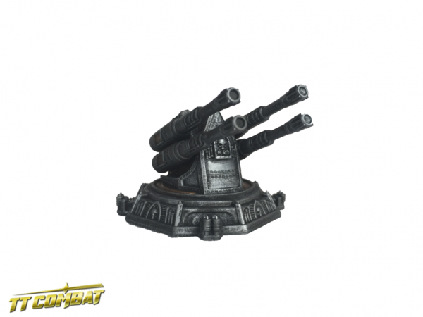 Flak Cannon Platform - Sci-Fi Gothic Scenics