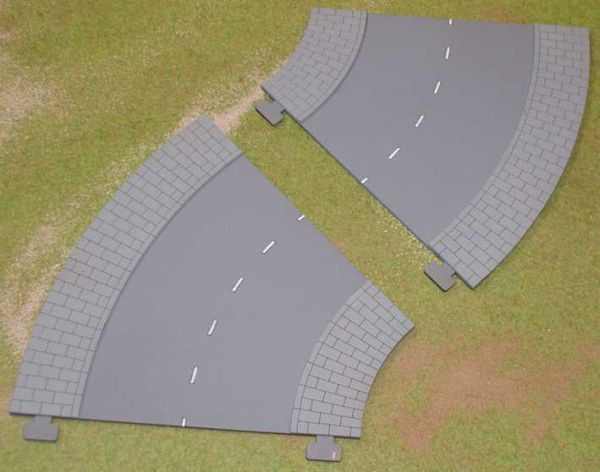 28mm Road 2 x 45 degree bends