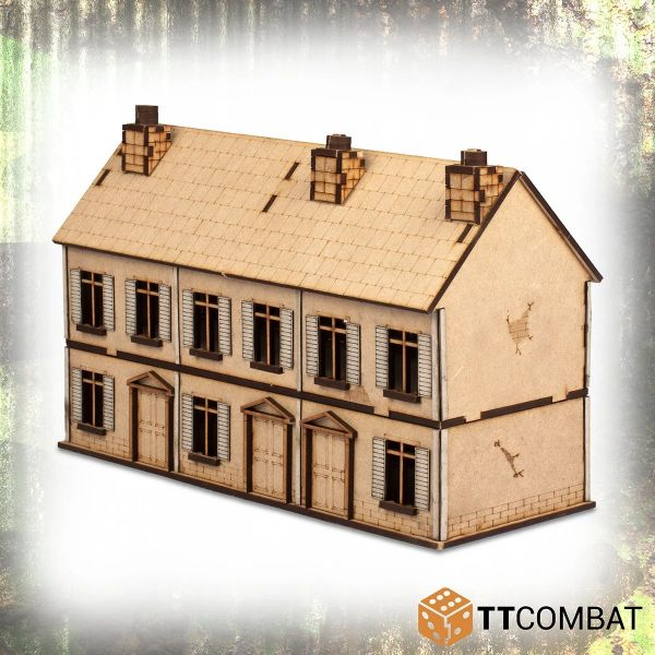 25mm City 2 Storey Terrace