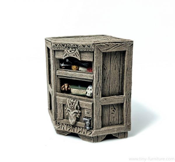 Beast Hunter Corner Bookshelf / Monsterjäger Eckregal