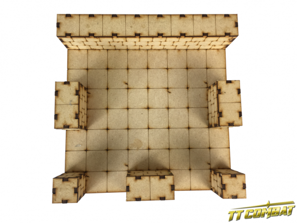 Large Deluxe Dungeon Sections 1 x T-Junction - Fantasy Scenics