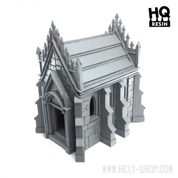 Forgotten Necropolis Diorama Resin Kit