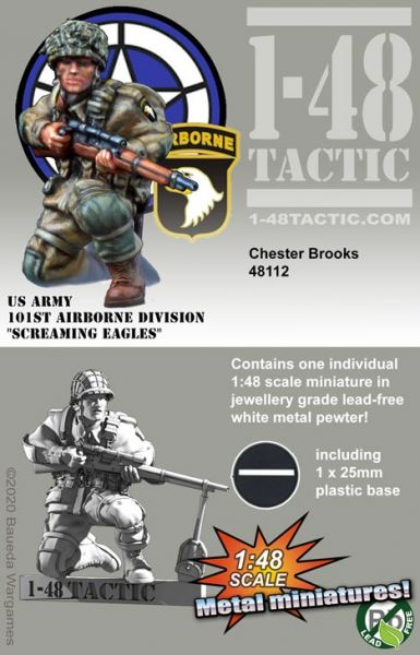Chester Brooks – US Army 101st Airborne Division