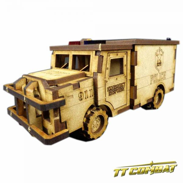Police Truck - City Scenics