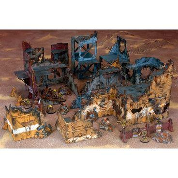 Riesen Paket für eine extrem große Stadtkampfplatte mit vielen Ruinen