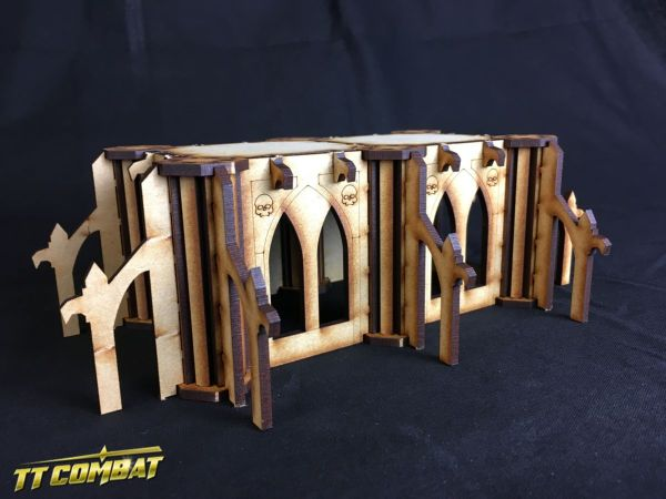 Gothic Modular Building 01 - Sci-Fi Gothic Scenics
