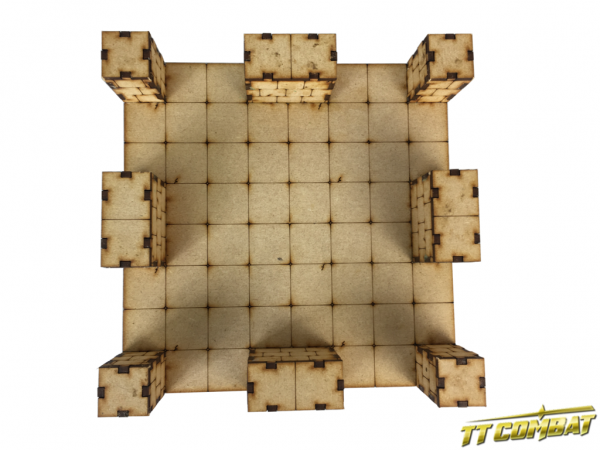 Large Deluxe Dungeon Sections 1 x Crossroad - Fantasy Scenics