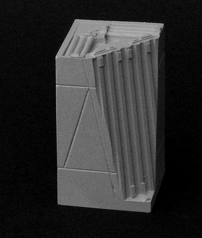 3cm x 3cm Blastwall Inside Corner x2