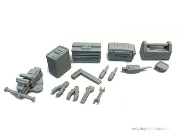 Tools kit / Werkzeug