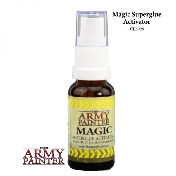 Army Painter Superglue Activator vereinfacht das Arbeiten mit Army Painter Superglue