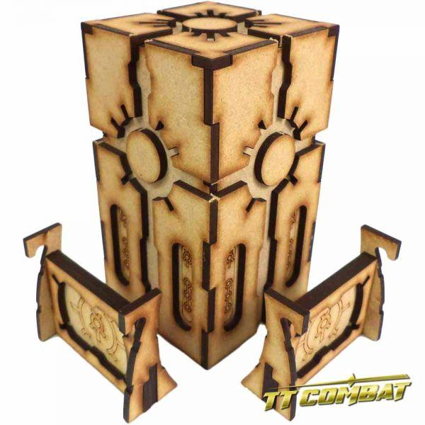 Cyber Tower - Sci-Fi Gothic Scenics