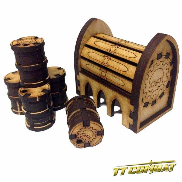 Mecharium Barrels